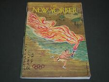 1964 OCTOBER 4 NEW YORKER MAGAZINE - BEAUTIFUL OLYMPICS FRONT COVER - O 5168
