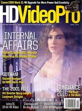 HD Video Pro April 2016 SUNDANCE High-Definition Technology & Inspiration