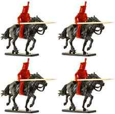 Timpo Recast British Lancers with Cloned Italeri Horses - 54mm unpainted plastic