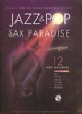 JAZZ & POP SAXOPHONE PARADISE SONG BOOK & CD FISHEL PUSTILNIK 12 SONGS CLEARANCE