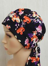 Cancer bonnet cap, chemo head wrap, hair loss headscarf, alopecia bandana scarf