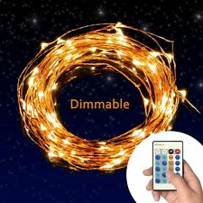 TaoTronics Dimmable Led String Lights Copper Wire 33ft LED Starry (TT-SL036) NEW