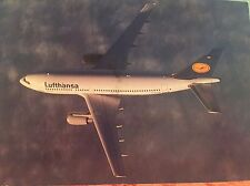 LUFTHANSA Airbus A320 Airline Issued Photo Postcard Aviation Airplane German