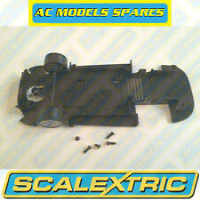 W9387 Scalextric Spare Underpan & Front Axle Assembly for Jaguar XKRS