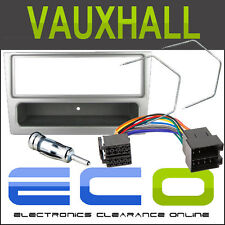 FP-19-00S Vauxhall Corsa 2000 - 2005 Car Stereo Fascia Full Fitting Kit Silver