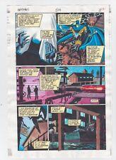 BATMAN #504 PAGE 2 ORIGINAL COMIC PRODUCTION ART COLOR GUIDE CODE FREE CATWOMAN