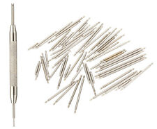 108Pcs 8-25mm Watch Band Spring Bars Strap Link Pins Stainless Steel Repair Kit