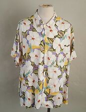 Bayou Wear ~ New Orleans Jazz Festival 2000 ~ Hawaiian Shirt ~ 3XL ~ Dragon Fly