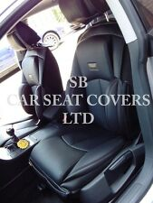 TO FIT A AUDI A5 CAR,SEAT COVERS,YS 01 RECARO SPORTS BLACK, 2 FRONTS