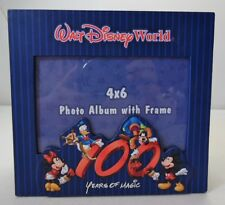 Walt Disney World 100 Years of Magic 4 x 6 Photo Album Frame Holds 100 Pictures