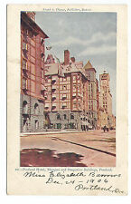 Portland Hotel With Street Scene And Buildings OR Oregon Postcard 1900s 1906
