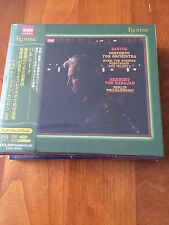 Esoteric SACD Bartok Karajan Concerto for Orchestra/Music for Strings NUOVO MINT