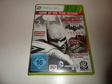 XBox 360  Batman: Arkham City - Game of the Year Edition