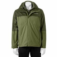 COLUMBIA OFF GRID INTERCHANGE MEN'S JACKET GREEN SIZE XL BRAND NEW MSRP: $230
