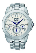 New Seiko SNP065 Perpetual Calendar Le Grand Sport Men's Kinetic Watch