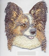 Papillon Dog Breed Embroidered Patch