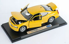 BLITZ VERSAND Dodge 2006 Charger R/T gelb yellow Welly Modell Auto 1:18 NEU OVP