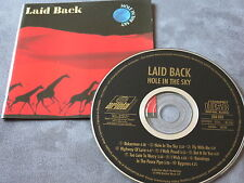 CD laid back-hole in the Sky/TOP/First Pressing