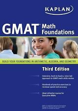Kaplan GMAT Math Foundations, Kaplan, Very Good Book