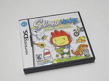 Scribblenauts Scribble Nauts, Complete Nintendo DS game