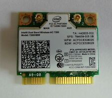 Intel 7260  802.11ac Bluetooth 4.0 - WiFi for Notebook DUAL BAND 867Mbps 7260HMW