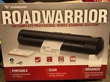 Visioneer RoadWarrior RW120-WU Compact Portable Color Scanner Bundle - NEW!