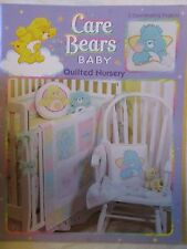 Care Bears Quilted Nursery Baby Pattern Book FULL SIZE PATTERN Leisure Arts 3636
