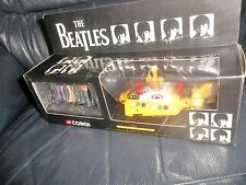 THE BEATLES CORGI YELLOW SUBMARINE 4 BEATLES FIGURES  WHITE & YELLOW HATCHES NEW
