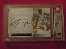 2012-13 Michael Jordan Upper Deck Exquisite Autograph Card Graded 9 Auto 10