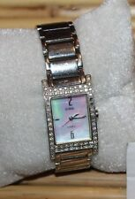 BEAUTIFUL  Ladies GUESS G95370L GENUINE Mother-of-Pearl Dial Dress WATCH  F76
