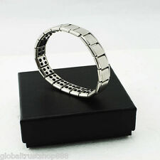 Titanium Health Bracelet Power Nano Energy Magnetic Balance Ion Powerf