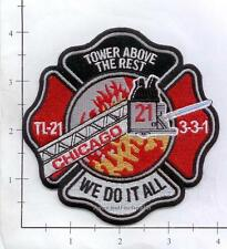 Illinois - Chicago Truck 21 IL Fire Dept Patch
