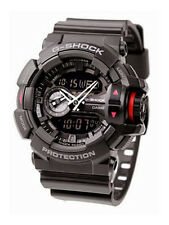 Casio  Mens G-Shock Black Chronograph Watch GA-400-1BDR