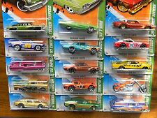 HOT WHEELS ~2011~TREASURE HUNT SET-COMPLETE~ALL 15 CARS~VHTF~RARE~T~