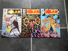 Solar Man of the Atom #28 #29 #30 unbroken run Valiant comics 3 books