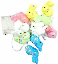 10 Battery Operated Bunny Garland Easter Fairy LED Light Decor Party Rabbit Egg