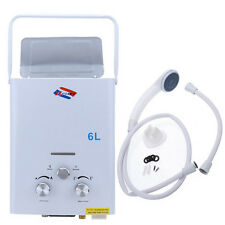 Water Heater 6L GAS LPG Propane Tankless Boiler Instant Household WATER HEATER