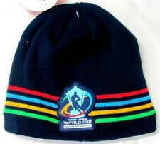 RUGBY WORLD CUP RUGBY LEAGUE 2013 ENGLAND AND WALES NAVY COLOUR STRIPES BEANIE