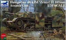 Bronco 1/35 CB35036 Hungarian 40/43M 'Zrinyi' II 105mm Assault Gun