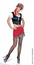 New Sexy Pirate Buccaneer Complete 5 Piece Costume or Gypsy Costume Small