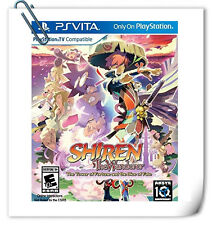 PSV Shiren the Wanderer The Tower of Fortune Sony VITA RPG Games Aksys