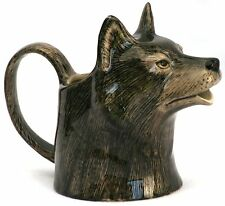 Wolf Jug by Quail Pottery Gift Boxed