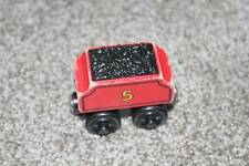 Thomas & Friends Wooden Railway James Tender Red 5 Train Coal Car Magnetic 2002