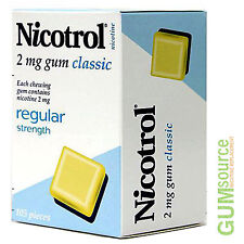 Nicotrol 2mg CLASSIC  1 box 105 pieces Nicotine Quit Smoking Gum