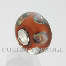 Authentic Trollbeads Chocolate Parrot Trollbead *RETIRED*  61389