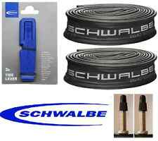 2 x Schwalbe 700x40c PV Inner Tubes &  3 Schwalbe Tyre Levers Tracked Delivery