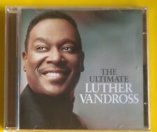Luther Vandross Ultimate CD NEW SEALED Never Too Much/Dance With My Father+