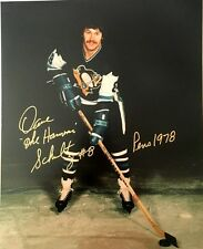 Pittsburgh Penguins Dave The Hammer Schultz Autographed Photo