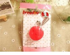 1 pc Rosie Le PETTIT BREADOU MACARON Squishy charm Cellphone Bread Straps CUTE