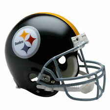 PITTSBURGH STEELERS 63-76 RIDDELL NFL THROWBACK AUTHENTIC FOOTBALL HELMET